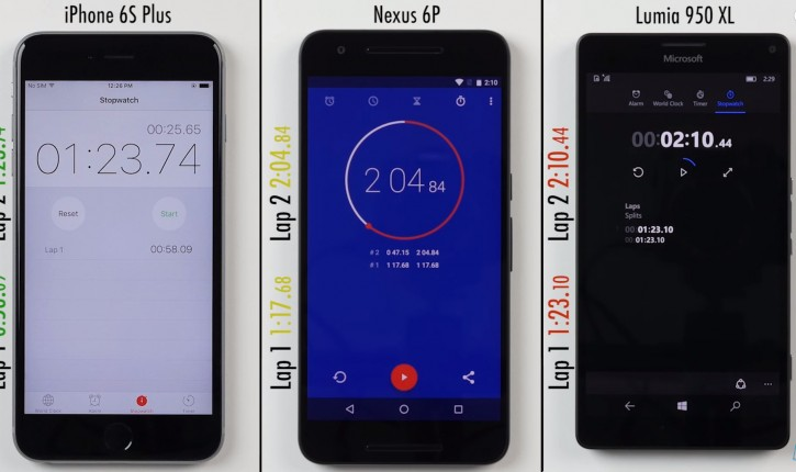 Lumia 950 XL, iPhone 6S Plus ili Nexus 6P: ko je bio bolji?