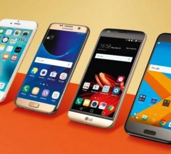 TOP 10 smartphona u 2016. godini