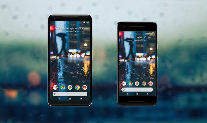 Pogledajte razlike između telefona Pixel i novog Pixel 2