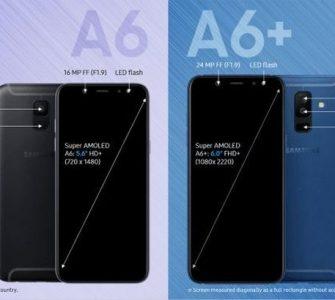 Poznate cijene za Samsung Galaxy A6 i A6+ (2018)