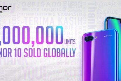 Huawei već prodao 3 miliona Honor 10 smartphona
