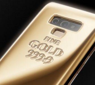 Caviar Samsung Galaxy Note 9: 1 kg zlata na poleđini uređaja