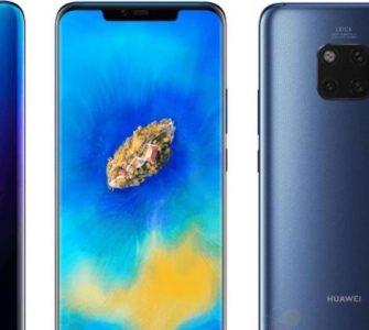 Poznate cijene za Huawei Mate 20 i Mate 20 Pro