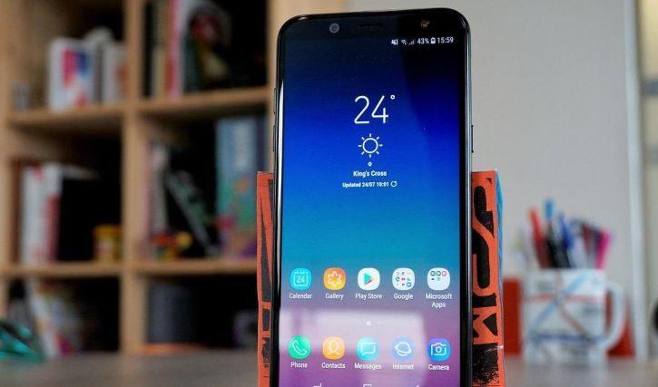 Samsung Galaxy A6+ dobija novi update