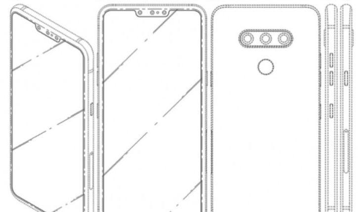 LG predao dokumente za patent smartphona sa tri selfie kamere