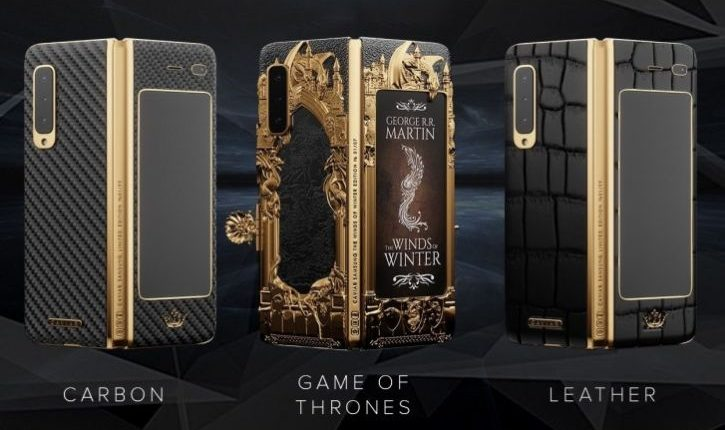 Caviar pripremio Game of Thrones verziju Galaxy Fold modela