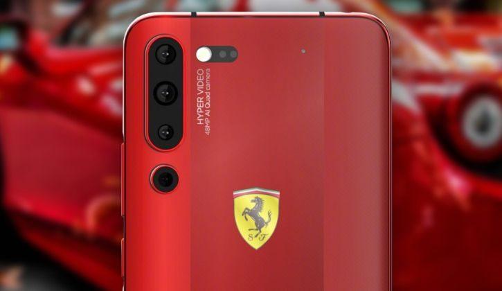 Specijalni model smartphona: Lenovo Z6 Pro Ferrari Edition